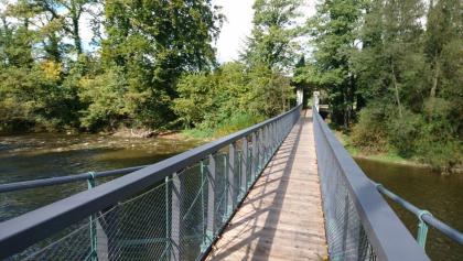 Hängebrücke bei Laimnau