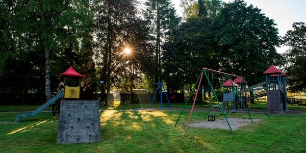Spielplatz Dorfpark Waldweiher