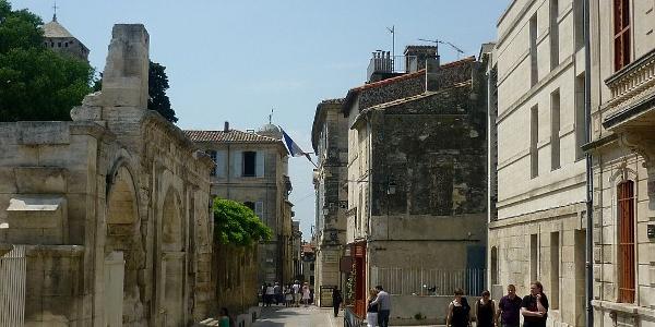 Die Altstadt von Arles