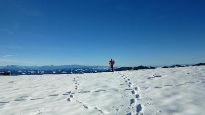 Auf dem Napf mit Voralpen-Panorama.