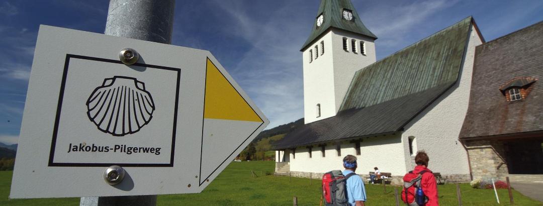 Jakobsweg im Oberallgäu
