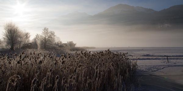 Herrlicher Wintertag am Weissensee