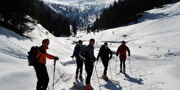 Skitour Throneck