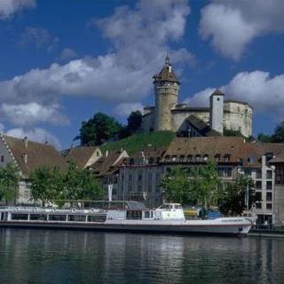 Munotbild mit Rhein