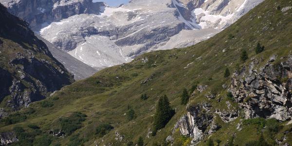 Zuhinterst im Val Faller - die Usser Wissberge