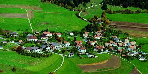 Das verträumte Haufendorf Loveresse