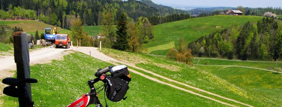 Im Aufstieg bei Anderwiil