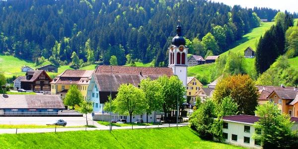 St. Peterzell vom Norden