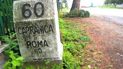 Via Cassia/Strada Doganale Oriolese: 60km