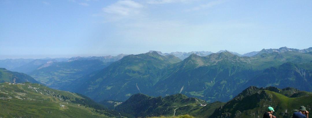 Aussicht von der Madrisella