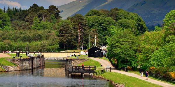 Caledonian Canal at Laggan Lochs