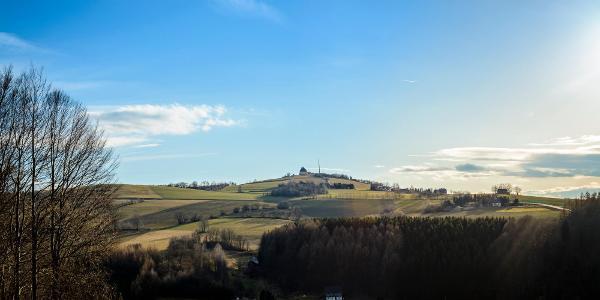 Blick zum Schwartenberg