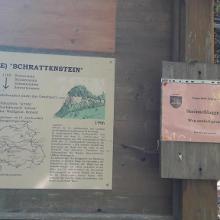 Ruine Schrattenstein gesperrt