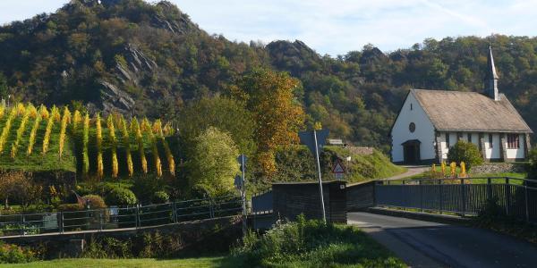 Altenburg mit Maternuskapelle und Teufelsloch