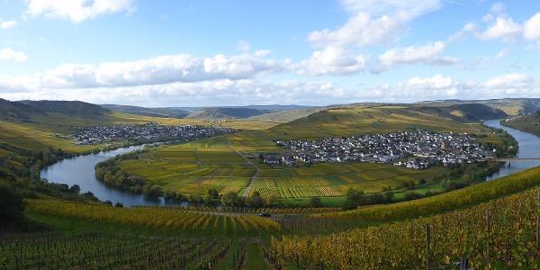 Panorama von der Zummethöhe