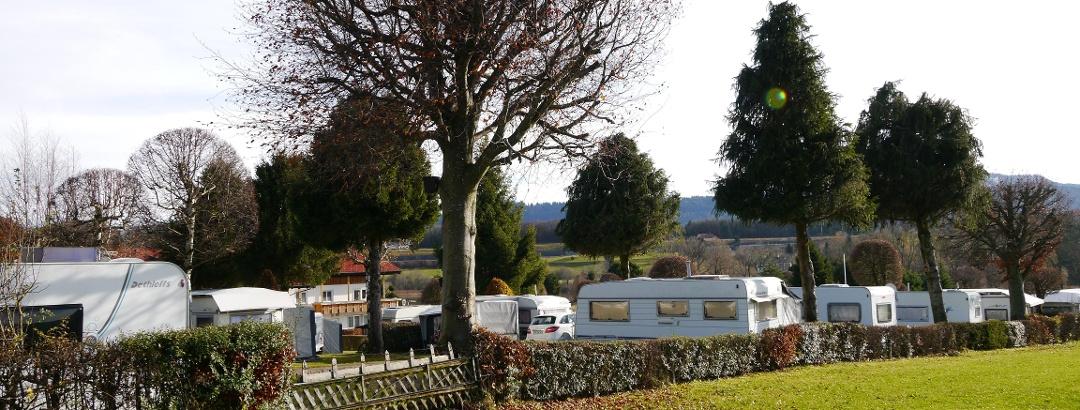 "Campsite near lake ""Niedersonthofener See"""
