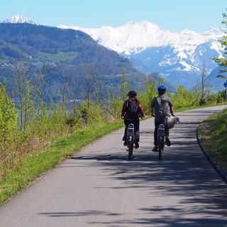 Veloweg Richtung Hergiswil, Nidwalden