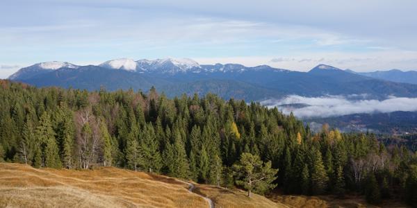 Gipfelblick nach Nordwesten