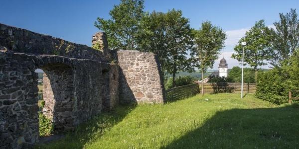 Haschbach - Remigiusberg - Ruine Michelsburg,