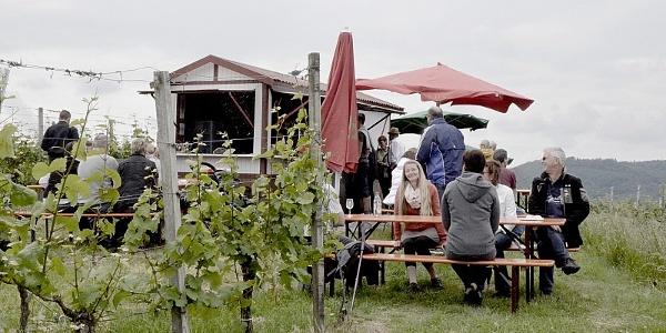 Wengertshäusle am Breitenauer See – Weinausschankhütte der Winzer vom Weinsberger Tal