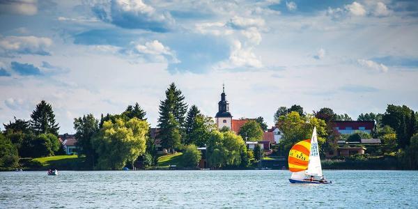 Wassersport auf dem Inheidener See