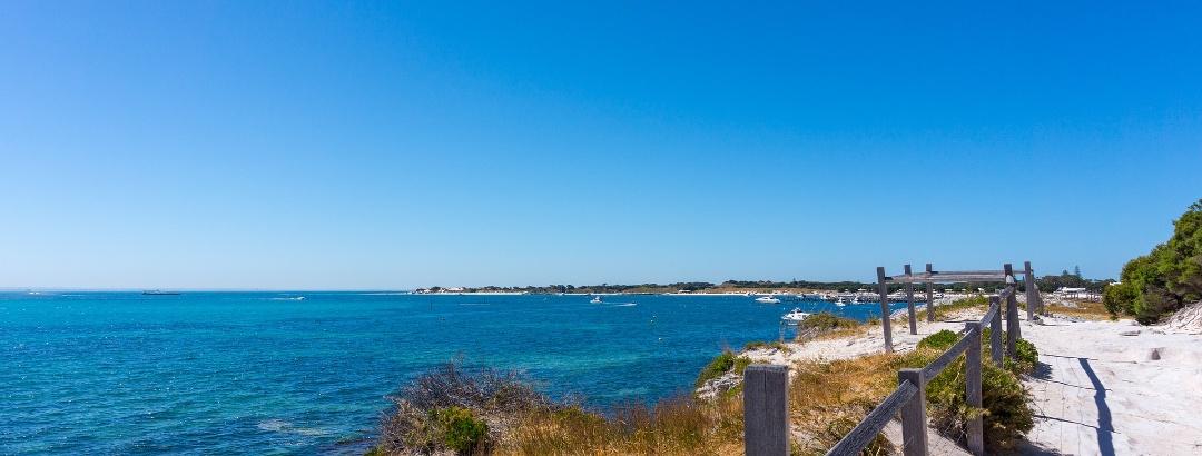 Wanderweg an der australischen Küste