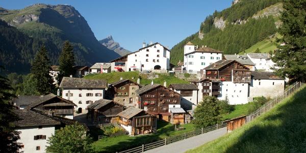 Dorf Splügen