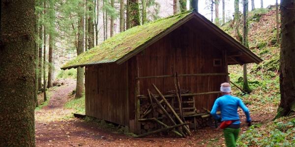 Jagdhütte 1060m