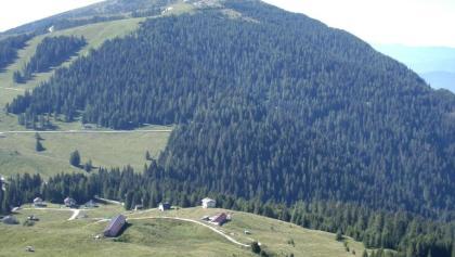 Panorama Passo Brocon Malga Cavallara