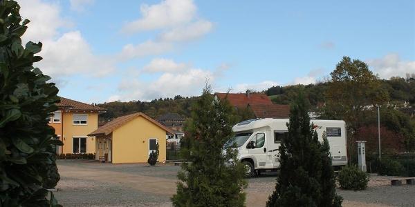 "Wohnmobilstellplatz ""Villa Toskana"", Ansicht 1"
