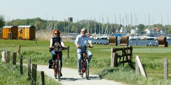 Radwandern in der Parklandschaft Ammerland