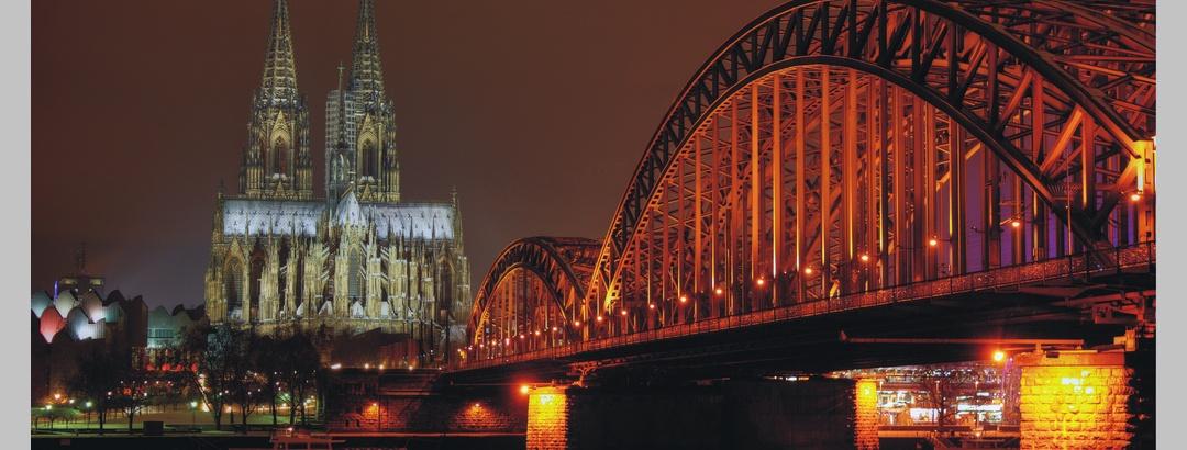 Kölner Dom und Rheinbrücke