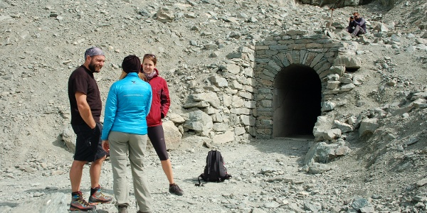 Eingang des Buco del Viso (Viso-Tunnel) im Guil-Tal