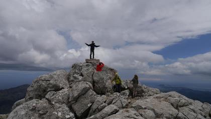Am Gipfel des Puig de Massanella