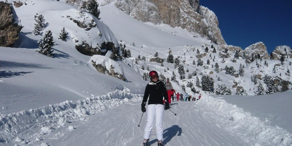 """Skifahren durch die """"Steinerne Stadt"""""""