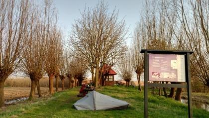 Haastrecht, picknickarea wildcamp