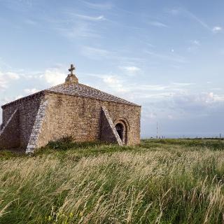 Chapel on St Aldhelm's Head