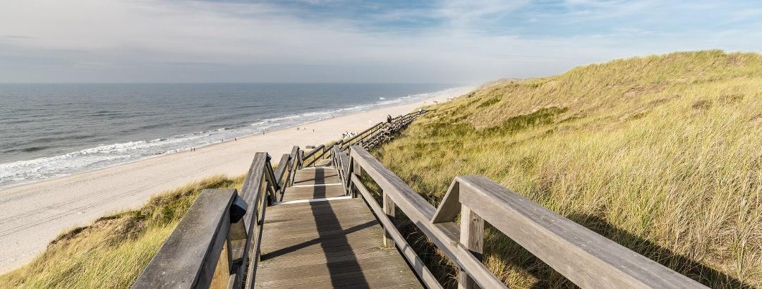 Strandtreppe in Wenningstedt