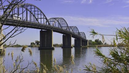 Bridge Marechal Carmona on River Tejo