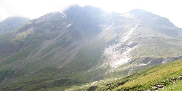 Letzes Stück zum Niederen-Tauern-Pass mit der Hagener Hütte (2.448 m) (22.07.2017)
