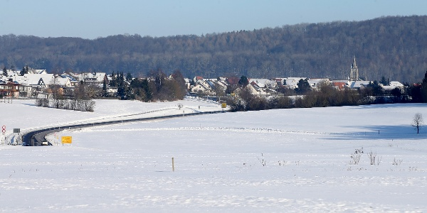 Böhringen im Winter