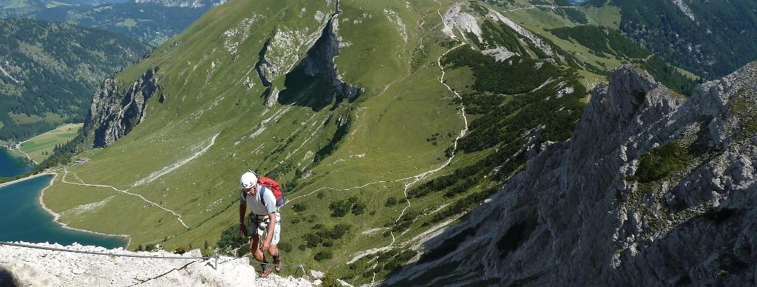 Klettersteig an der Lachenspitze