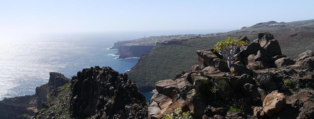 Sicht auf San Sebatián