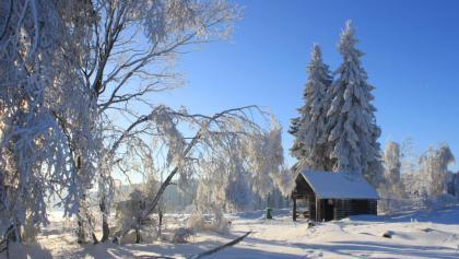 Wanmderhütte am Skigebiet Olpe-Fahlenscheid