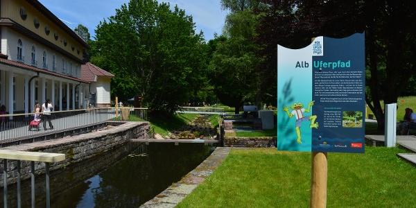 Starttafel Alb-Uferpfad