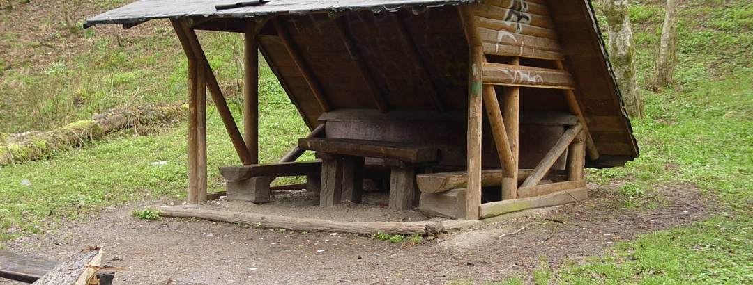 Schutzhütte im Kirnbachtal