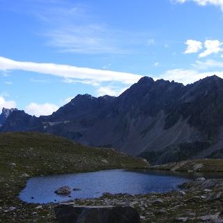 der höchstgelegene von 7 kleinen Seen oberhalb des Ochsentales