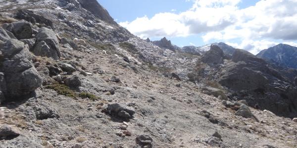 Blick zur Punta Scarpiccia