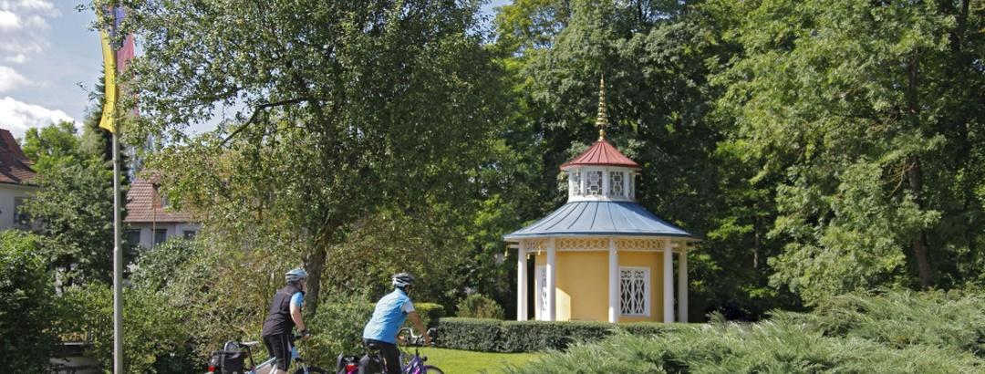 Schellenhäuschen im Schlosspark