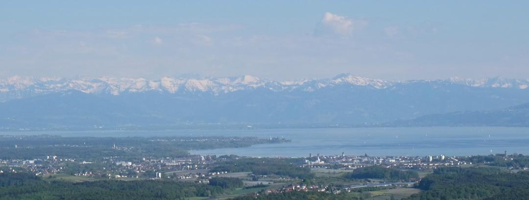 Alpenpanorama vom Gehrenbergturm